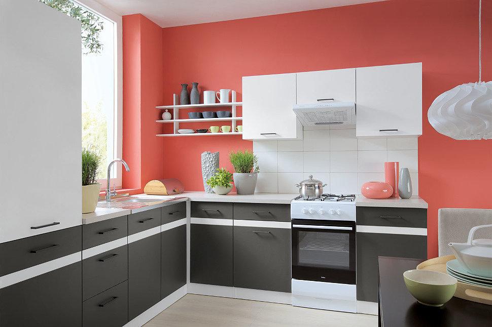 JUNONA LINE 240 Кухня BRW серый