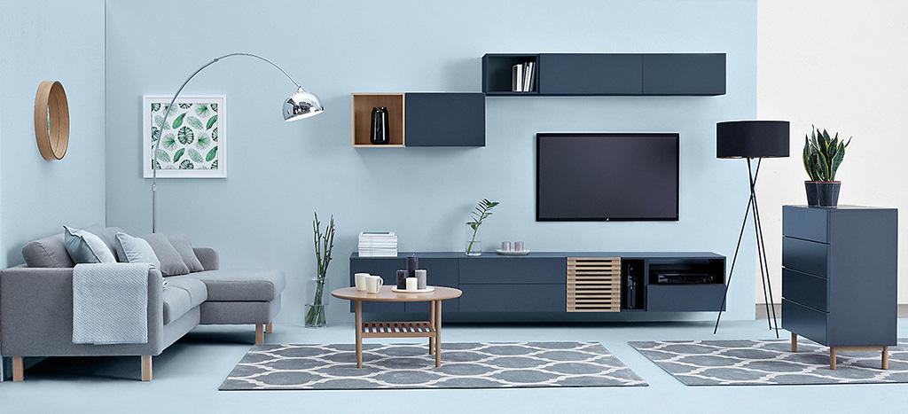 польская мебель Moko Brw набор модульной мебели для гостиной моко