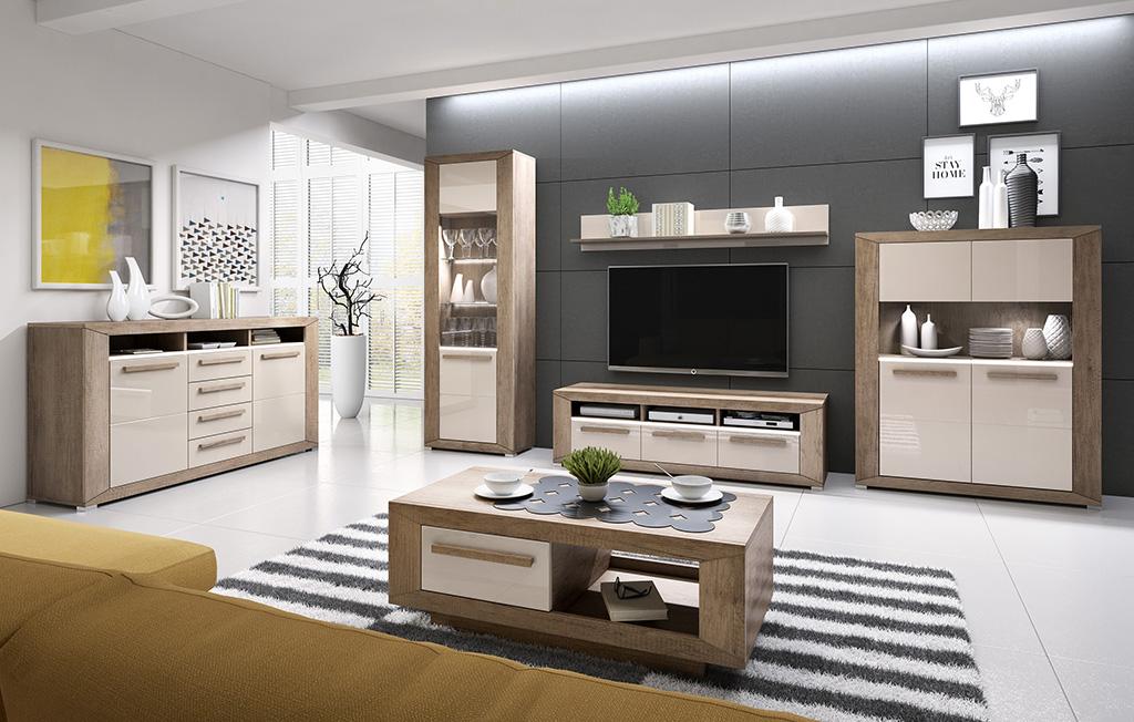 польская мебель Lumi Helvetia набор модульной мебели для гостиной